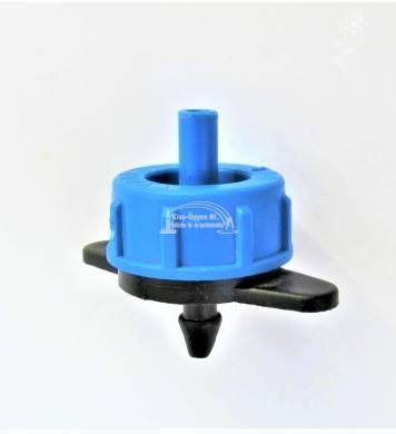 AXIOS nyom. komp. tisztítható csepegtető gomba 8 L/h kék