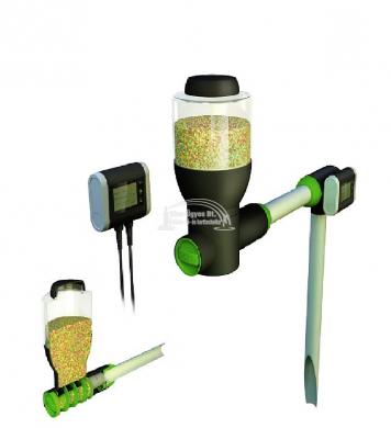 Velda Fish Feeder Basic 2,5 literes haletető autómata, LCD kijelzős vezérlővel ( 2 év garancia )