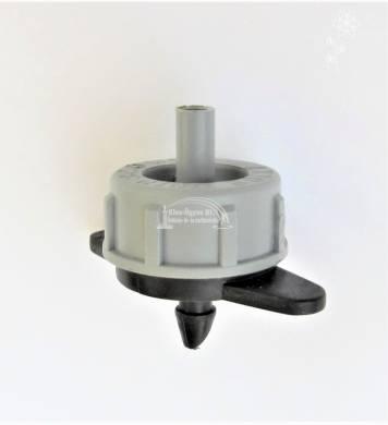 AXIOS nyom. komp. tisztítható csepegtető gomba 4 L/h szürke