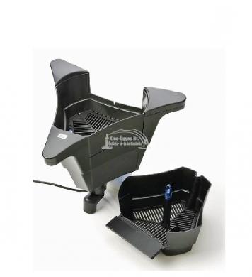 Oase SwimSkim 50, úszó vízfelszín tistító és levélszűrő, 3.500L/h szivattyúval, 50 m2 felülethez ( 2 év garancia )