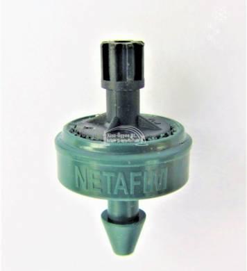 Netafim PCJ LCNL nyomáskompenzált, cseppmentes, öntisztító gomba, 8L/h, 0,7-4 bar zöld