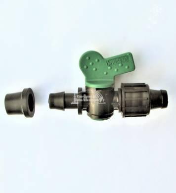 Csepegtető szalag indító, csapos, 17 x gumigyűrű, Irritec