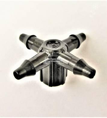 Plastro négyutas elosztó Supertif ND gombához