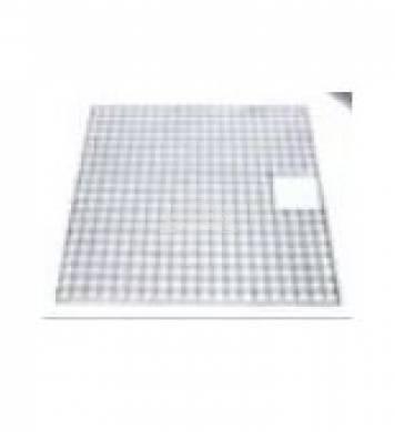 Fedőrács acél szögletes 100 x 100 cm   Victória 112 -höz