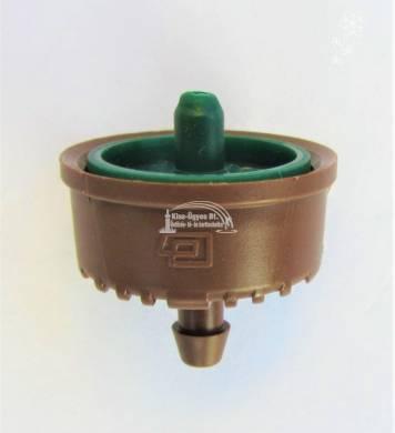 Plastro Supertif ND nyomáskompenzált, szivárgásmentes csepegtető gomba 7,8 L/h zöld